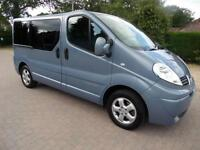 Renault Trafic 6 Seat Wheelchair Scooter Accessible Adapted WAV MPV