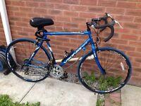 Viking racing bicycle blue