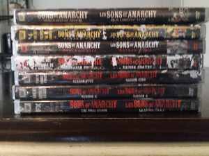 Sons of Anarchy DVD's, SOA (All Seasons)