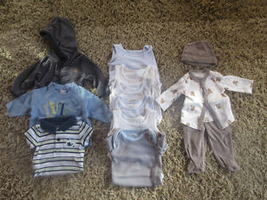 Super cute 0-3 months Boys Clothing  Lot (EXCELLENT condition!)