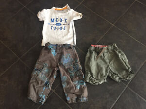 Boys 9-12 month summer clothes