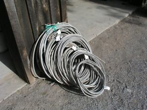 BX Armour Cable 3wire. Two sizes. 10AWG & 14AWG 3 wire copper.