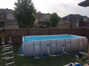 Coleman 18' Rectangular above ground pool