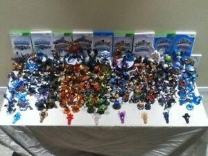 Skylanders characters and games for Wii/WiiU/XBox 360/PS3/PS4