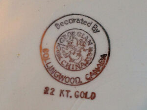 Antique/Vintage Collectors Plates Decorated with 22K Gold Stratford Kitchener Area image 3