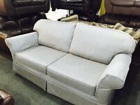 As new large fabric 2 seater sofa