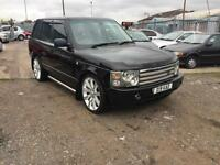 2002/02 Land Rover Range Rover 3.0 Td6 auto Vogue FULL MOT HPI CLEAR