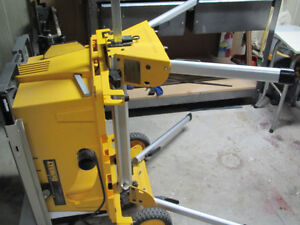 DEWALT Table Saw, Model DW744, portable, wheeled Cambridge Kitchener Area image 3