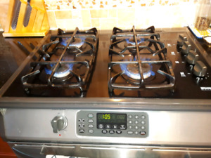used stainless natural gas stove