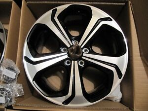 2014-2015 civic si 18inch oem rims in box West Island Greater Montréal image 4