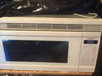 Microwave, Panasonic Over Range