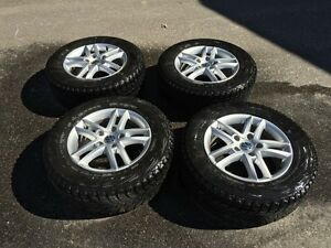 VW Touareg winter tires/rims