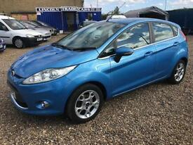 2012 FORD FIESTA 1.25 Zetec 5dr [82] FSH LOW INSURANCE 6M WARRANTY