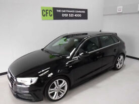 2014 Audi A3 1.6TDI 105 Sportback S Line BUY FOR ONLY £221 A MONTH*FINANCE*
