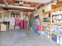 GARAGE CLEANING AND ORGANIZING