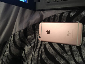 Mint condition rose gold iPhone 6s