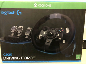 Logitech g920 steering wheel