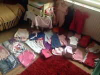 70x Items - Baby Girl Clothes Bundle (newborn/0-3m)