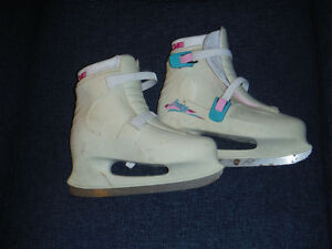 wo Pair Girl's/Lady's Ice Skates