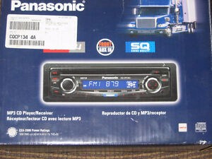 New Panasonic AM/FM MP3/CD Player/Receiver Big Rig Radio London Ontario image 1
