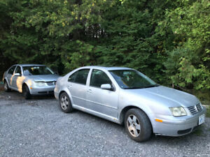 2000 and 2002 vw Jetta