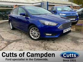 image for 2017 Ford Focus 1.0T EcoBoost Zetec Edition Automatic (125ps) HATCHBACK Petrol A