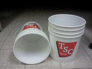Two Pail/bucket 18.9L never used. Cambridge Kitchener Area image 1