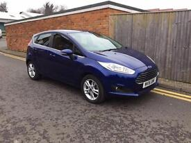 Ford Fiesta 1.5 TDCi ZETEC (75ps) 2016 ONLY 12,000 MILES FROM NEW
