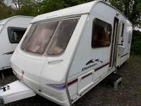 Swift Charisma 550 2004 4 Berth Fixed Bed Touring Caravan
