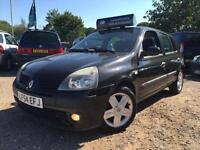 Renault Clio 1.4 AUTO *41k MILES* 1 Owner 2 Keys 9 Service Stamps