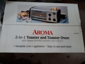 2 in 1 toaster/toaster oven