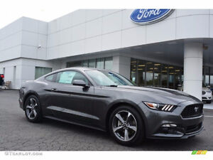 2016 Mustang v6; Magnetic; Leather seats