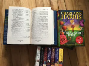 Sookie Stackhouse First Edition Hardcover Books.