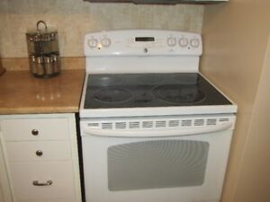 STOVE FOR SALE:   GE Adora with flat top and self cleaning