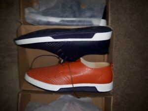 Leather, casual business or just plain casual shoes, size 10,