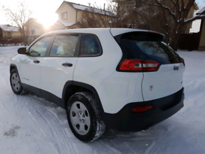 2016 jeep cherokee- low low low mileage
