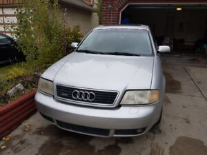 2001 AUDI A6 QUATTRO AWD 2.8L **Needs work**