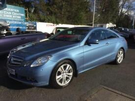 2010 Mercedes Benz E Class E250 CDI BlueEFFICIENCY SE 2dr Tip Auto 2 door Coupe