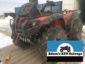 Yamaha Grizzly 550/700 Accessories