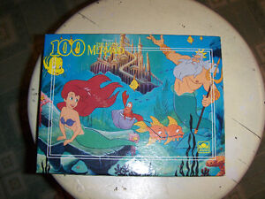 Mario Lemieux, Sidney Crosby, Dinosaur,Little Mermaid puzzles London Ontario image 2
