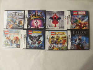 Nintendo 3DS, Nintendo DS, LEGO, MARVEL, CHIMA, SPIDERMAN +++