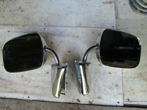 Chrome Mirrors Fits Chev truck or vans 1973 to 1987 Belleville Belleville Area image 2