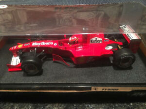 1/18 Hot Wheels Schumacher F1-2000 Ferrari Full Sponsor Livery!