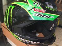 Thor monster energy helmet size M mx motocross