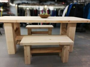 Handcrafted Harvest Table
