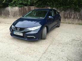 2014 Honda Civic 1.6 i-DTEC SE Plus 5dr (dab, premium audio)