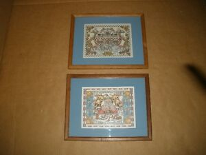 Two Noah's Ark Prints