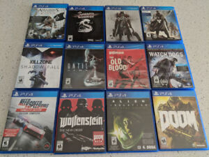 PS4 Playstation 4 games , jeux PS4