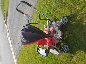 Joovy caboose sit and stand double stroller