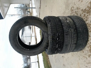 4 Michelin X-Ice winter tires